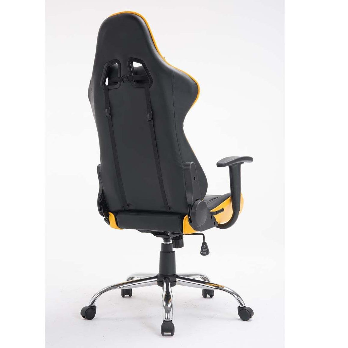 Silla gaming zelda reclinable con cojines en piel color for Silla gaming con altavoces