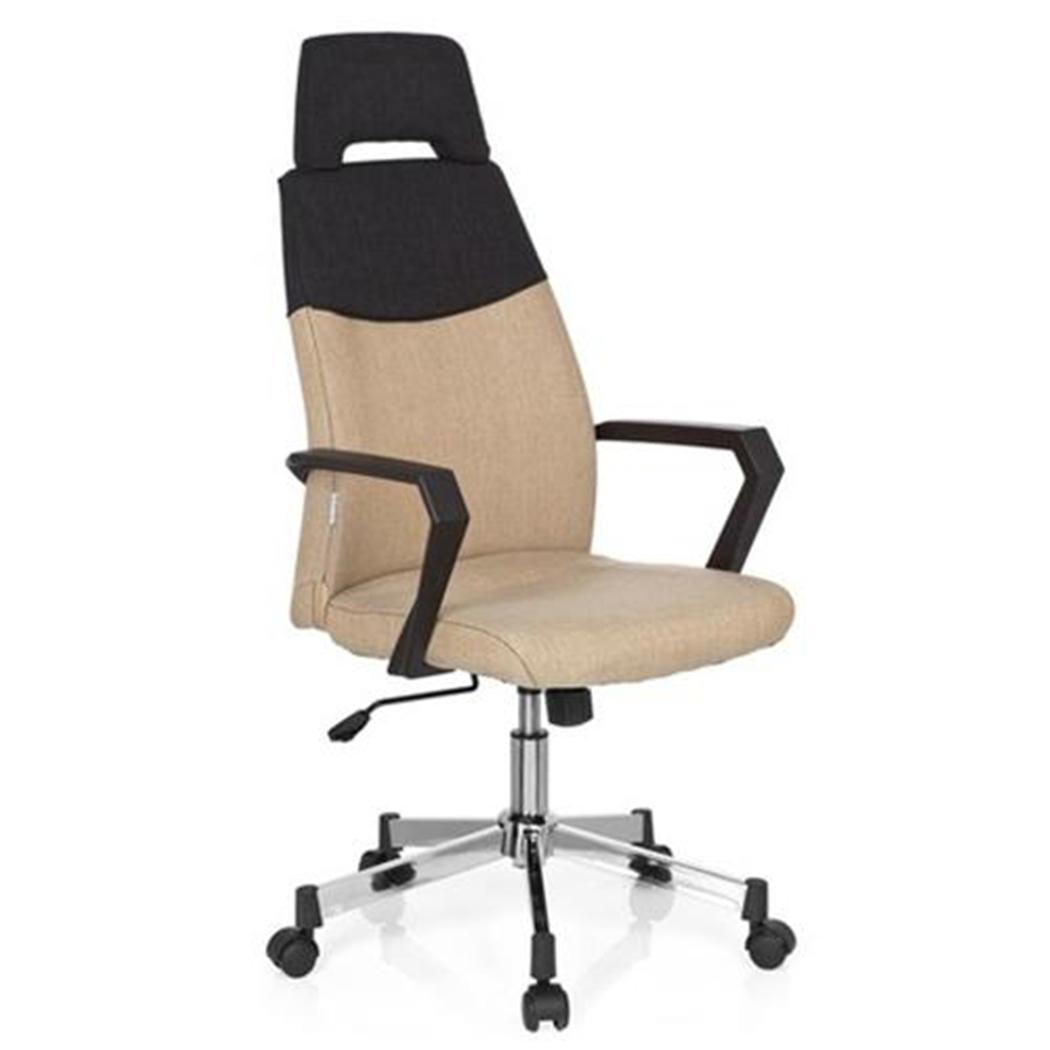 silla de oficina colonial pro exclusivo diseo base en metal color beige