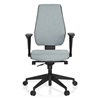 Silla Oficina Ergonómica DETROIT, Homologada para 8 h, 100% Regulable, Color Gris