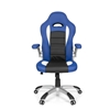 Silla de Oficina MONTECARLO, Diseño deportivo, Homologada uso 8h, Azul
