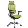 Silla de Oficina ERGOMAX, Toda clase de Extras, totalmente Regulable, color Verde
