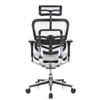 Silla de Oficina ERGOMAX, Toda clase de Extras, totalmente Regulable, color Blanco