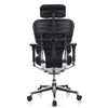 Elegante silla ERGOPLUS BASE, toda clase de extras, totalmente regulable, color Negro